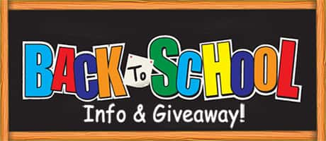 Back to School Giveaway, Dates, & School Supplies Lists