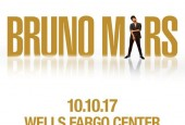Bruno Mars At Wells Fargo Center 10/10/17