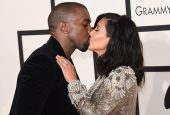 Kanye West Returns To Instagram With Special Valentine's Day Posts For Wife Kim Kardashian West
