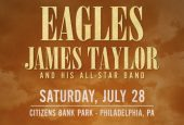 Eagles with James Taylor at Citizens Bank Park 7/28