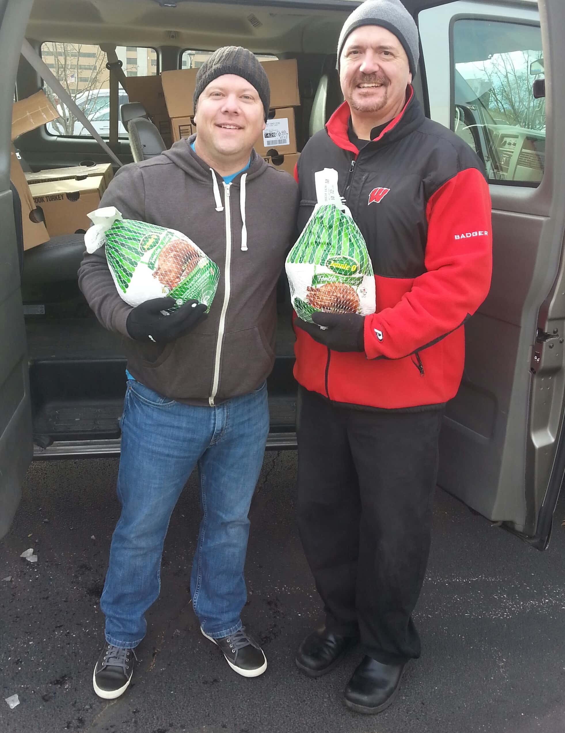 11 17 15 agnesian healthcare donates turkeys to local food for Food pantry ripon wi