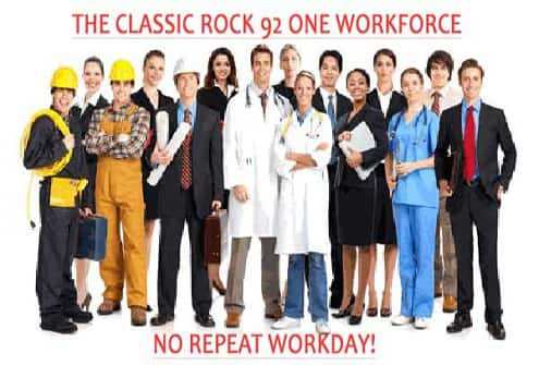 The NO Repeat Workday (M-F from 9-5)