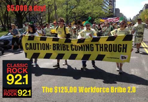 $125K Workforce Bribe 2.0