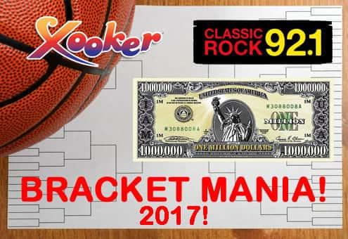 Xooker $1,000,000 Bracket Mania 2017