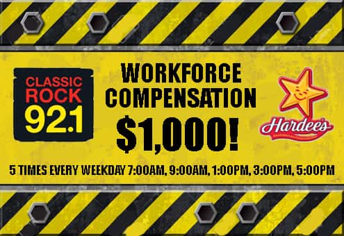 Classic Rock 92 One's Workforce Compensation