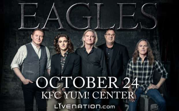 WIN Tickets to The Eagles @ KFC/Yum! Center