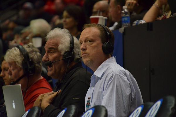Craig Elsten serves as Ted Leitner's wing man fat another SDSU game.
