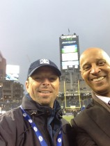 Scott Kaplan with James Lofton