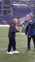 Scott Kaplan with Pete Carroll