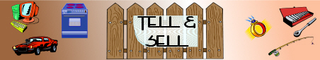 Tell & Sell banner