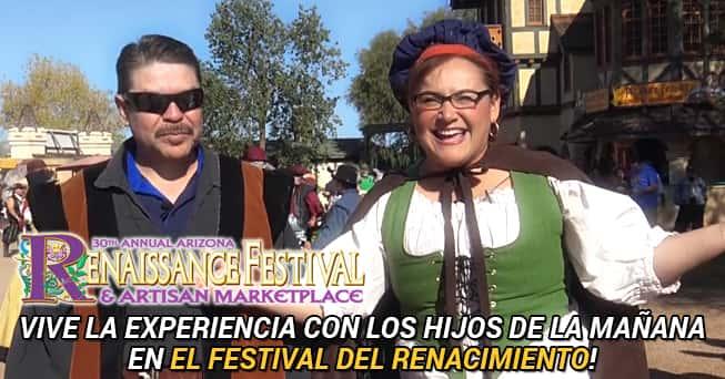 Arizona Renaissance Festival con Los Hijos
