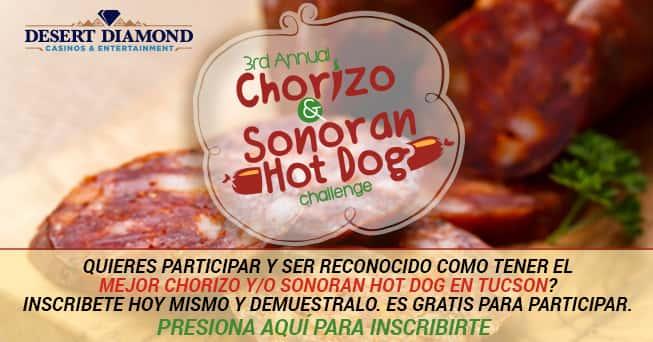 Chorizo & Sonoran Hot Dog Challenge 2018