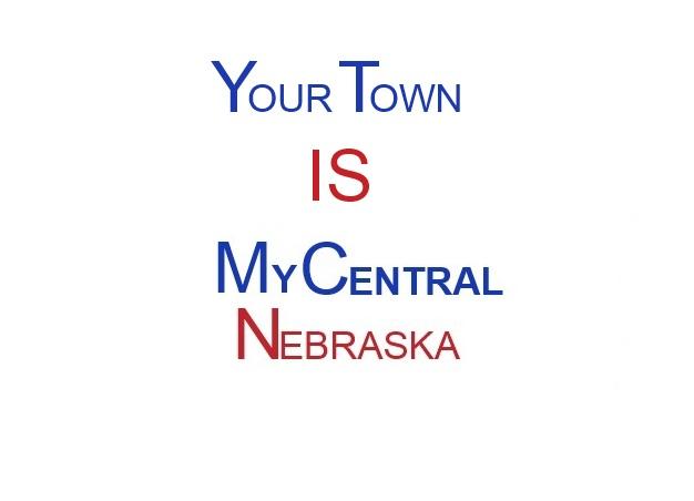 Your Town IS MyCentralNebraska LOGO
