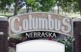 Columbus Town Sign