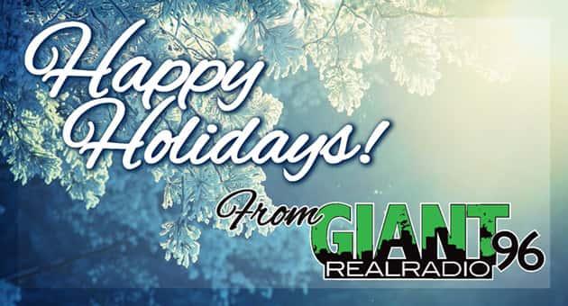 Happy Holidays Flipper - Giant 96
