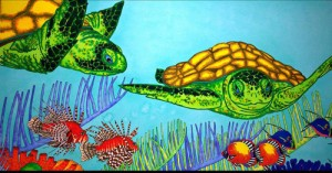 Carroll Swayze beautiful turtle