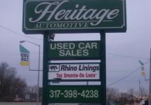 Heritage_Automotive sign