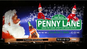 christmas a trip with penny lane