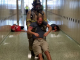 Public safety officials with Shelbyville High School students and staff stage active shooter training