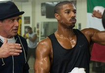 "Sylvester Stallone and Michael B. Jordan in ""Creed""; Barry Wetcher/Warner Bros."