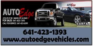 auto edge web ad