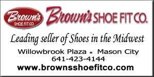 Browns Shoe Fit ad