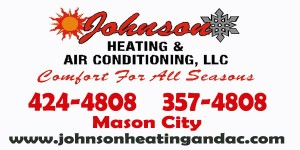 Johnson Heating web ad