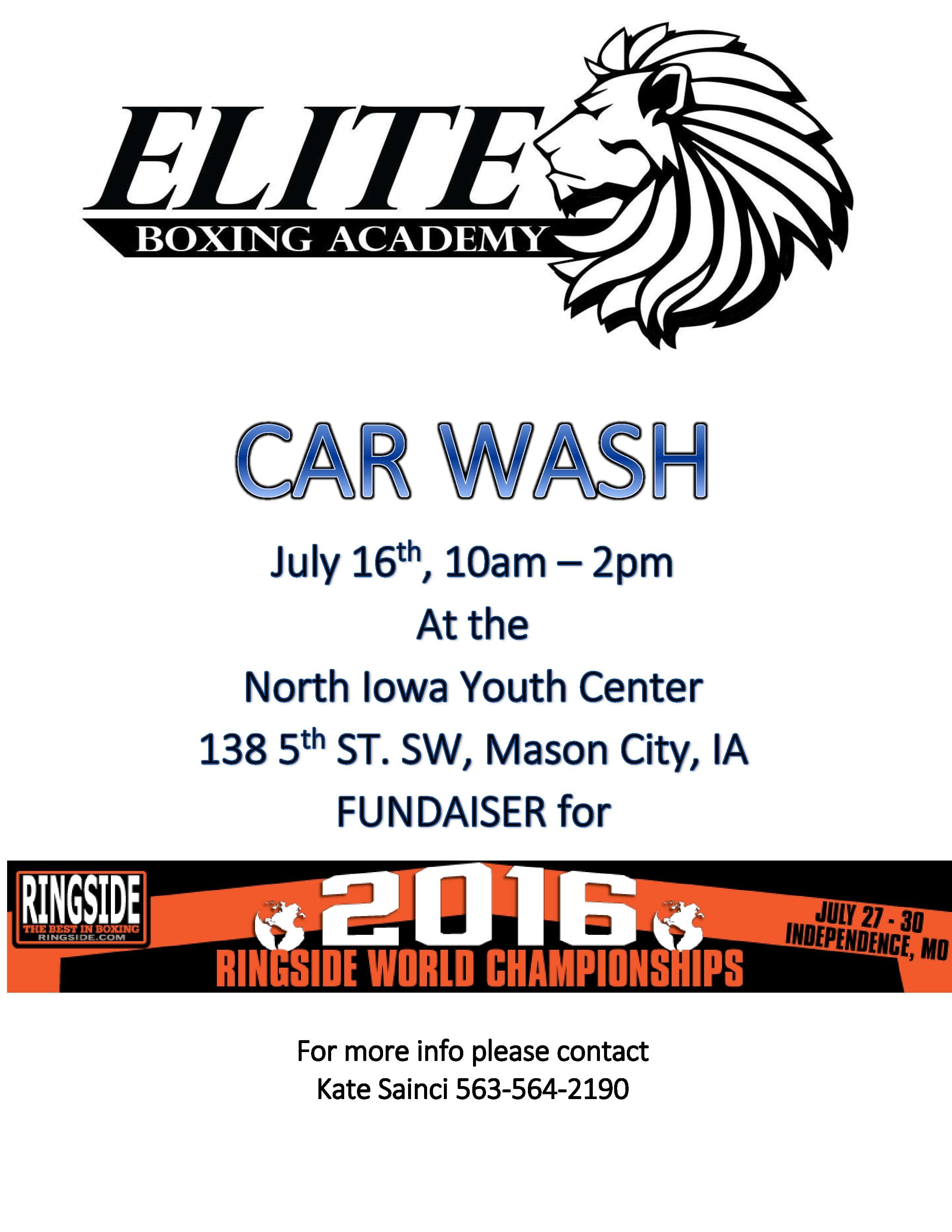 Mason City Iowa Car Wash