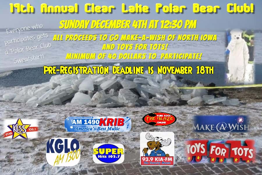 POLAR BEAR CLUB POSTER