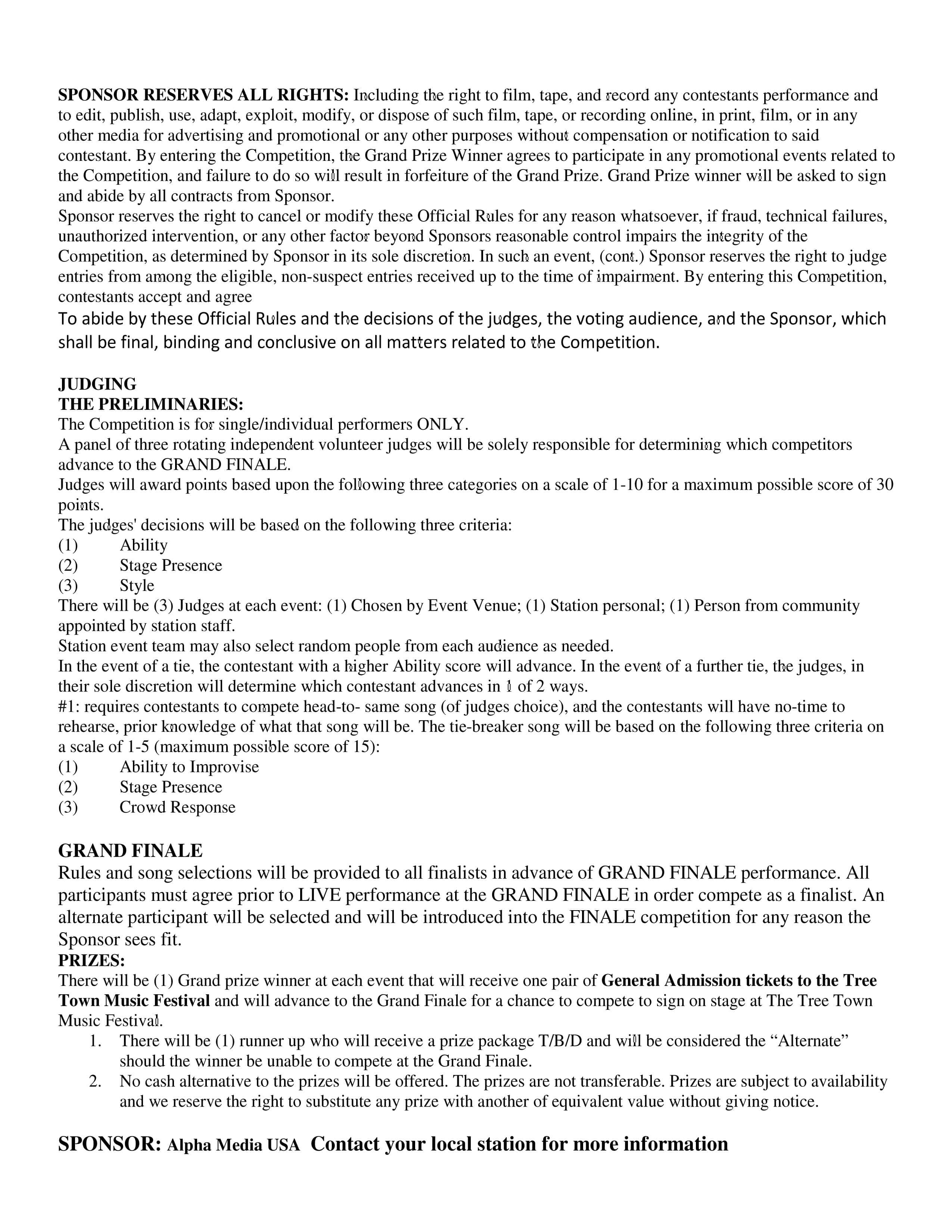 Karaoke Rules pg 3