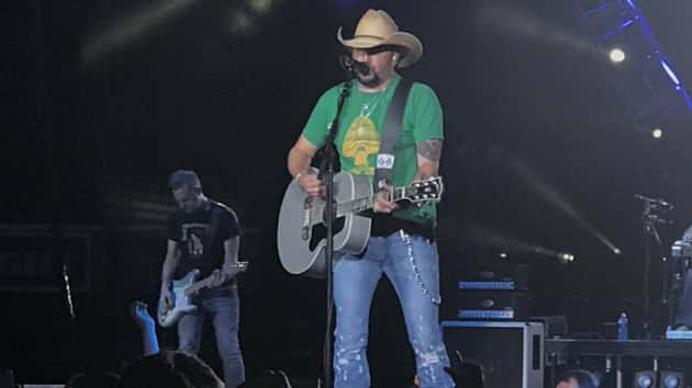 Strong words & a strong resolve to carry on: Jason Aldean delivers cathartic Tulsa concert, his first since Las Vegas