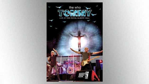The Who's 2017 Tommy performance at the Royal Albert Hall released today on DVD, CD and other formats
