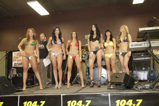 Bike Show Bikini 2014