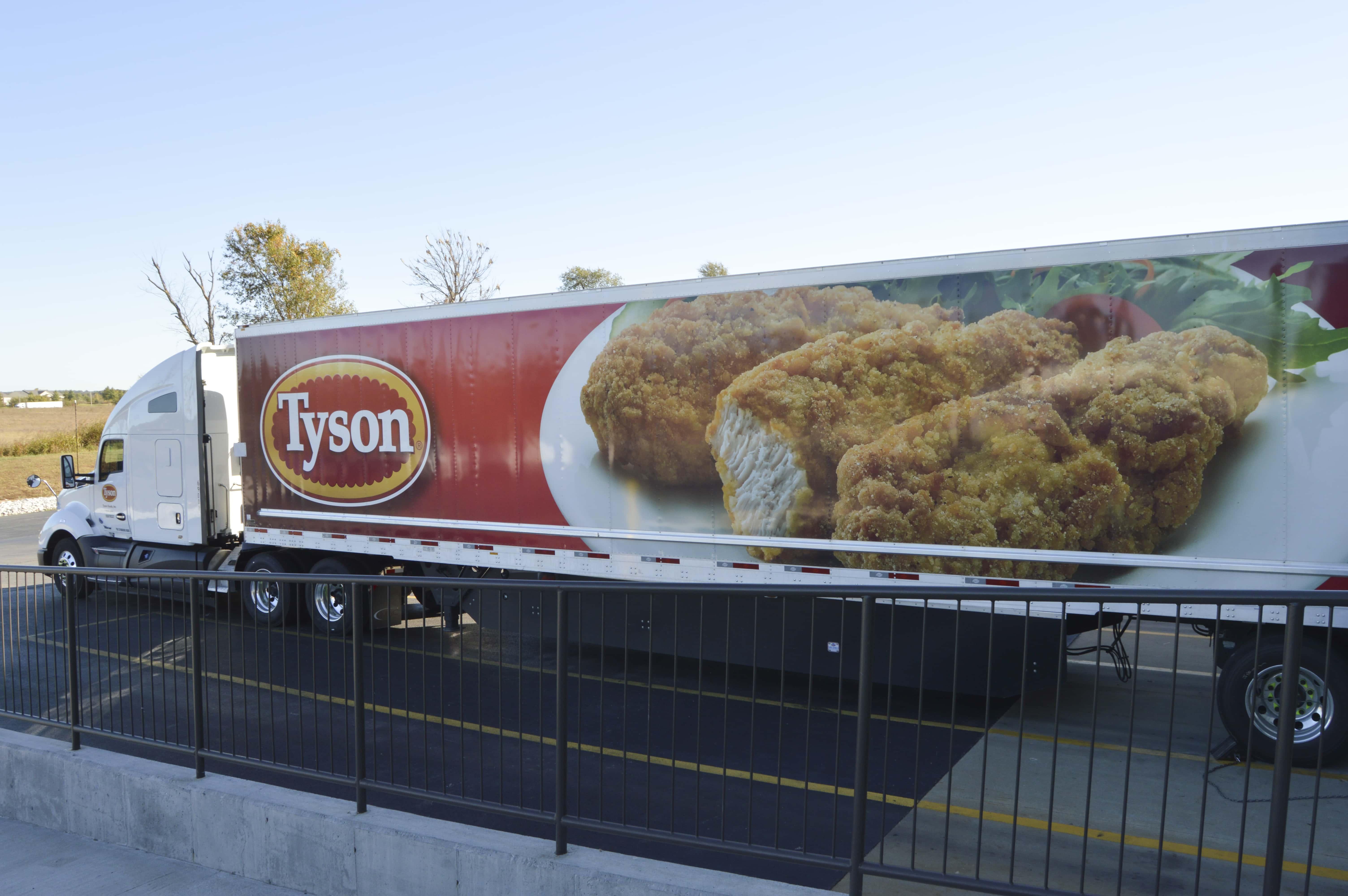 Tyson donation