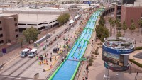 Slide The City Coming Downtown