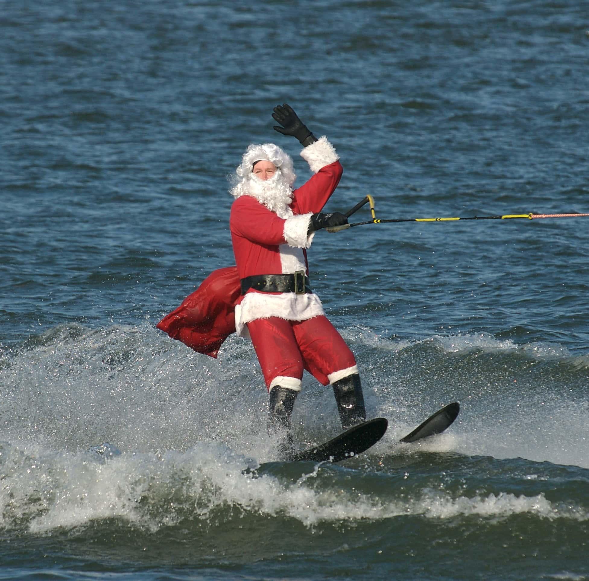 1 Year Old Water Skiing