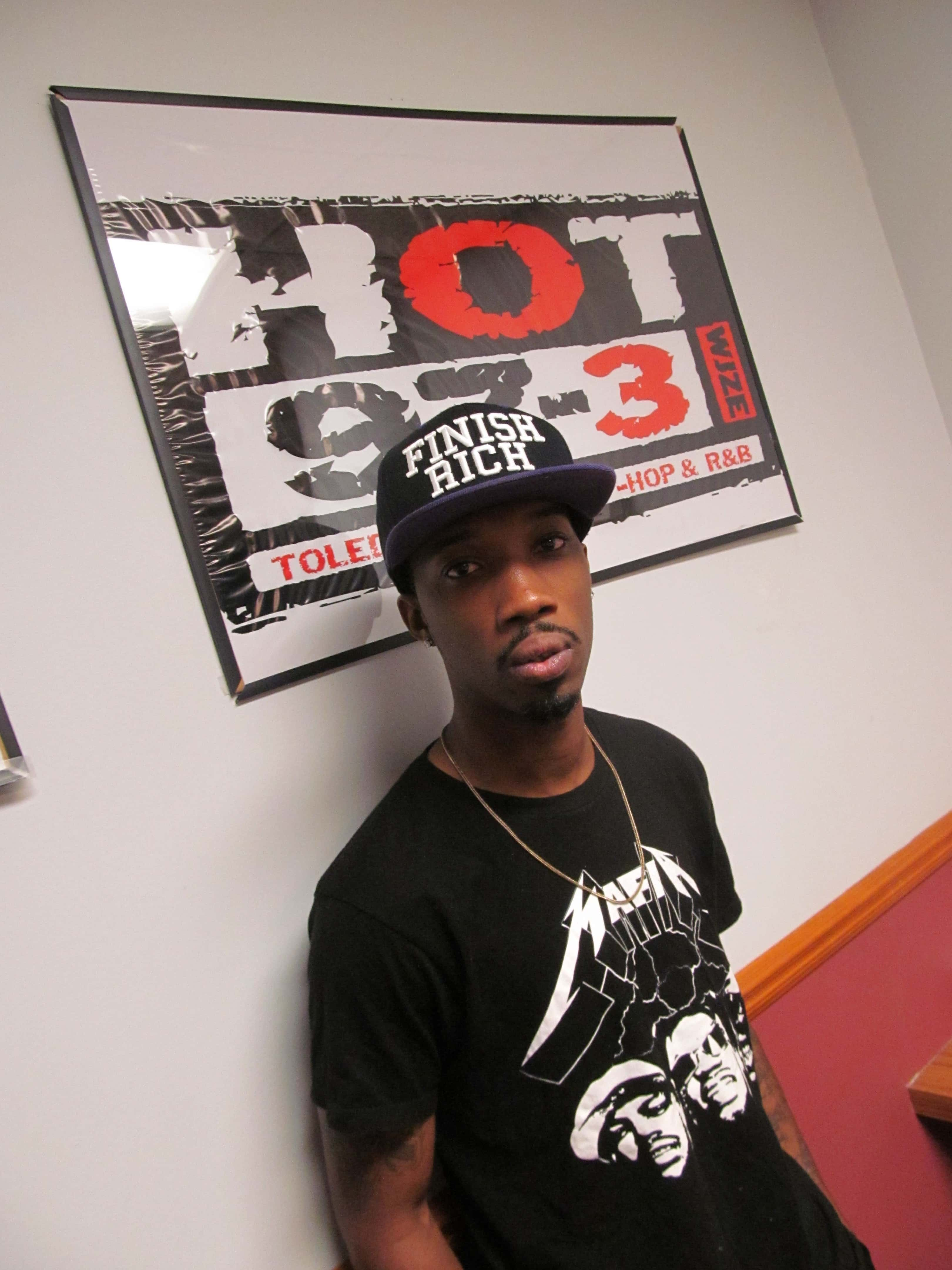 Breaking the Glass Champ, Rocky Duh, stopped by the station! Check out his music on iTunes and SoundCloud