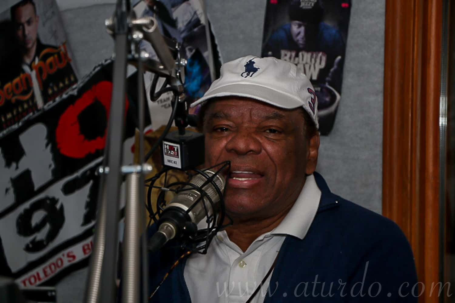 John Witherspoon in the Hot Studio