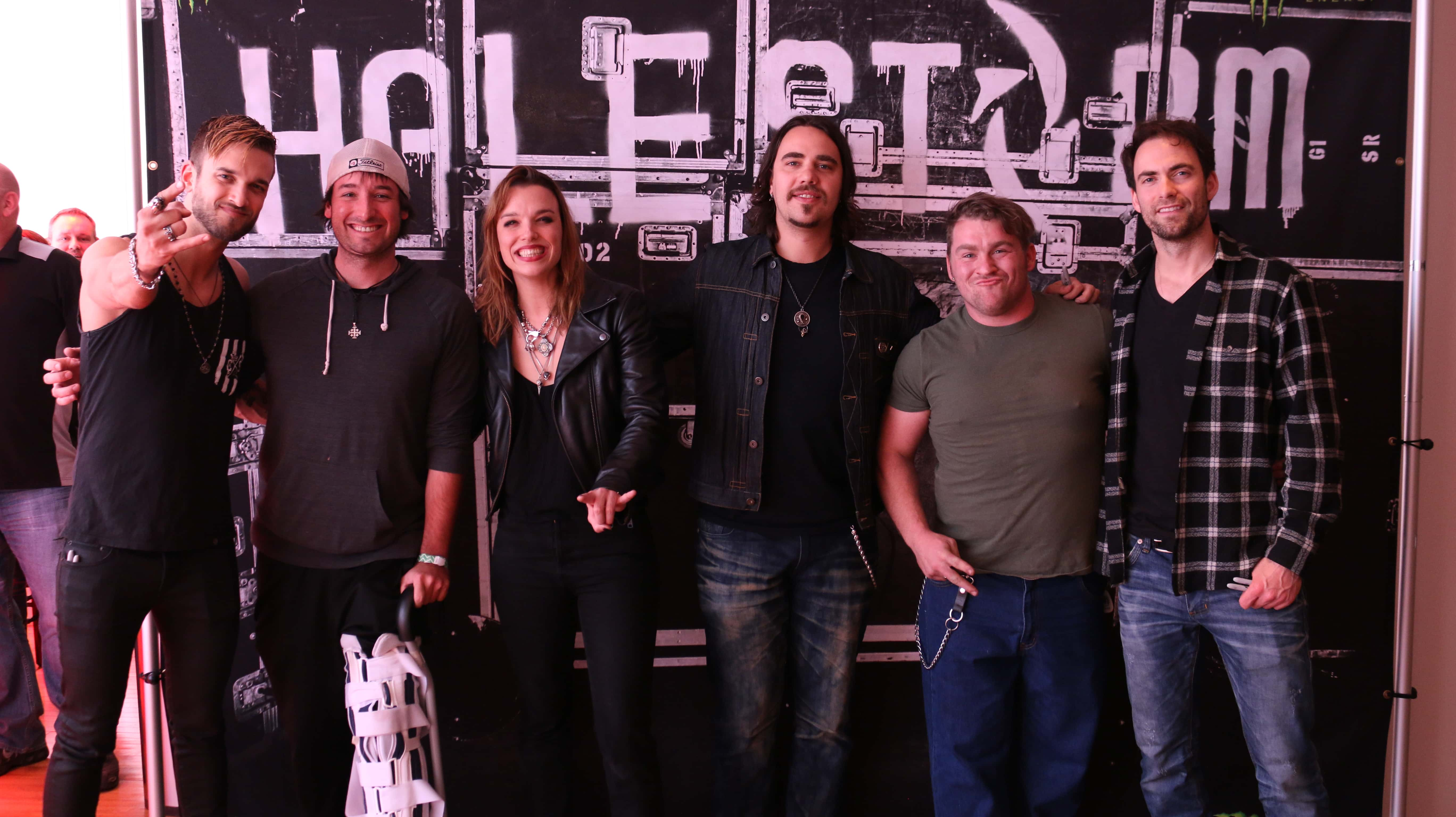 Halestorm Meet And Greet Q102 Springfields Rock Station