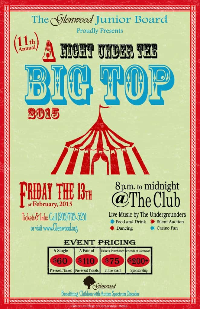 A Night Under The Big Top 2015