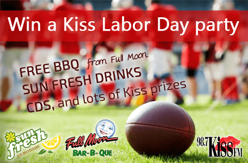 win-a-Kiss-Labor-Day-party