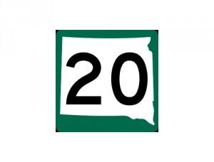 SD Highway 20 500 x 380