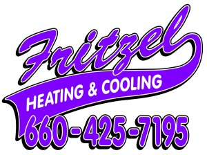 FRITZEL HEATING AND COOLING SIGN