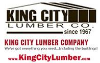 King City Lumber Poster