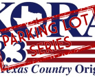 KORA parking lot series logo