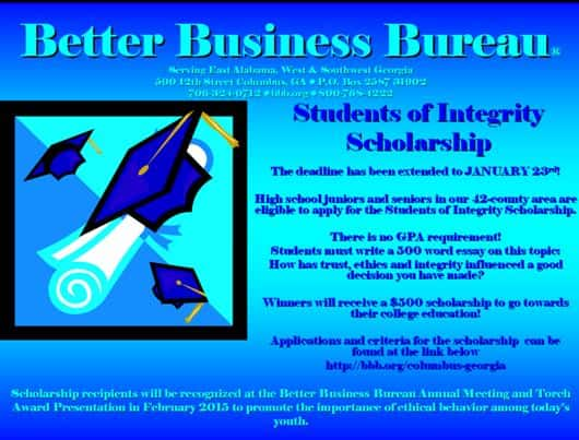 integrity scholarship essay Covenant eyes has a yearly scholarship you must be a covenant eyes member to apply applications are due july 1 apply today.