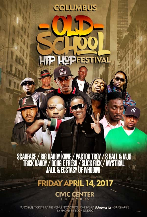 OldSchool HIP HOP FESTIVAL ColumbusGA_4x6