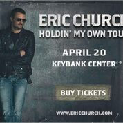 Eric Church banner 2017 Buffalo 300x250