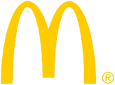 McDonald's logo yellow