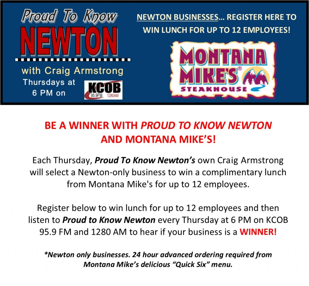 Register to Win with Montana Mikes
